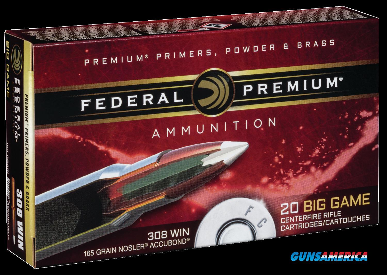 Federal Premium, Fed P308a1     308     165 Nosab            20-10  Guns > Pistols > 1911 Pistol Copies (non-Colt)