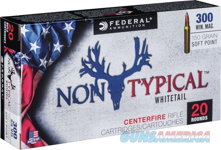 Federal Non-typical, Fed 300wdt150 300  150 Nontyp Sp      20-10  Guns > Pistols > 1911 Pistol Copies (non-Colt)