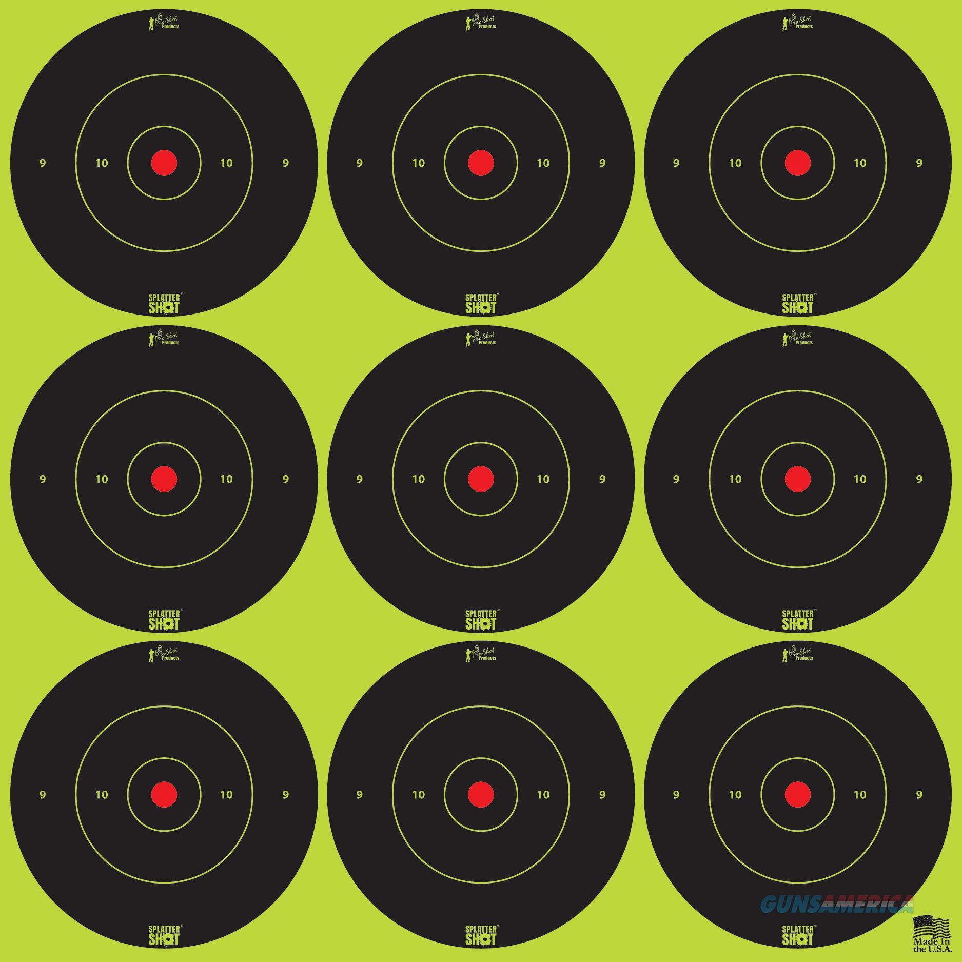 Pro-shot Splattershot, Proshot 2b-green-108  2 Splattershot Bullseye Trg  Guns > Pistols > 1911 Pistol Copies (non-Colt)