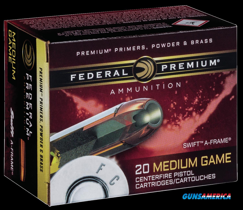 Federal Premium, Fed P454sa     454cs     300 Swafr         20-10  Guns > Pistols > 1911 Pistol Copies (non-Colt)