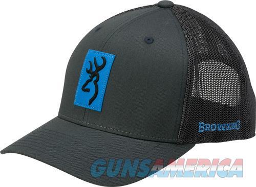 Bg Cap Snap Shot Charcoal W- - Blue Patch Adjustable  Guns > Pistols > 1911 Pistol Copies (non-Colt)