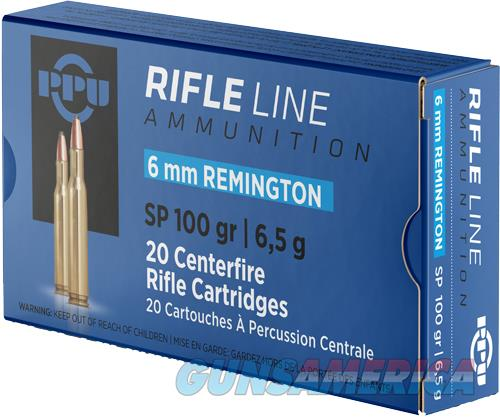 Ppu Ammo 6mm Remington - 100gr. Spbt 20-pack  Guns > Pistols > 1911 Pistol Copies (non-Colt)