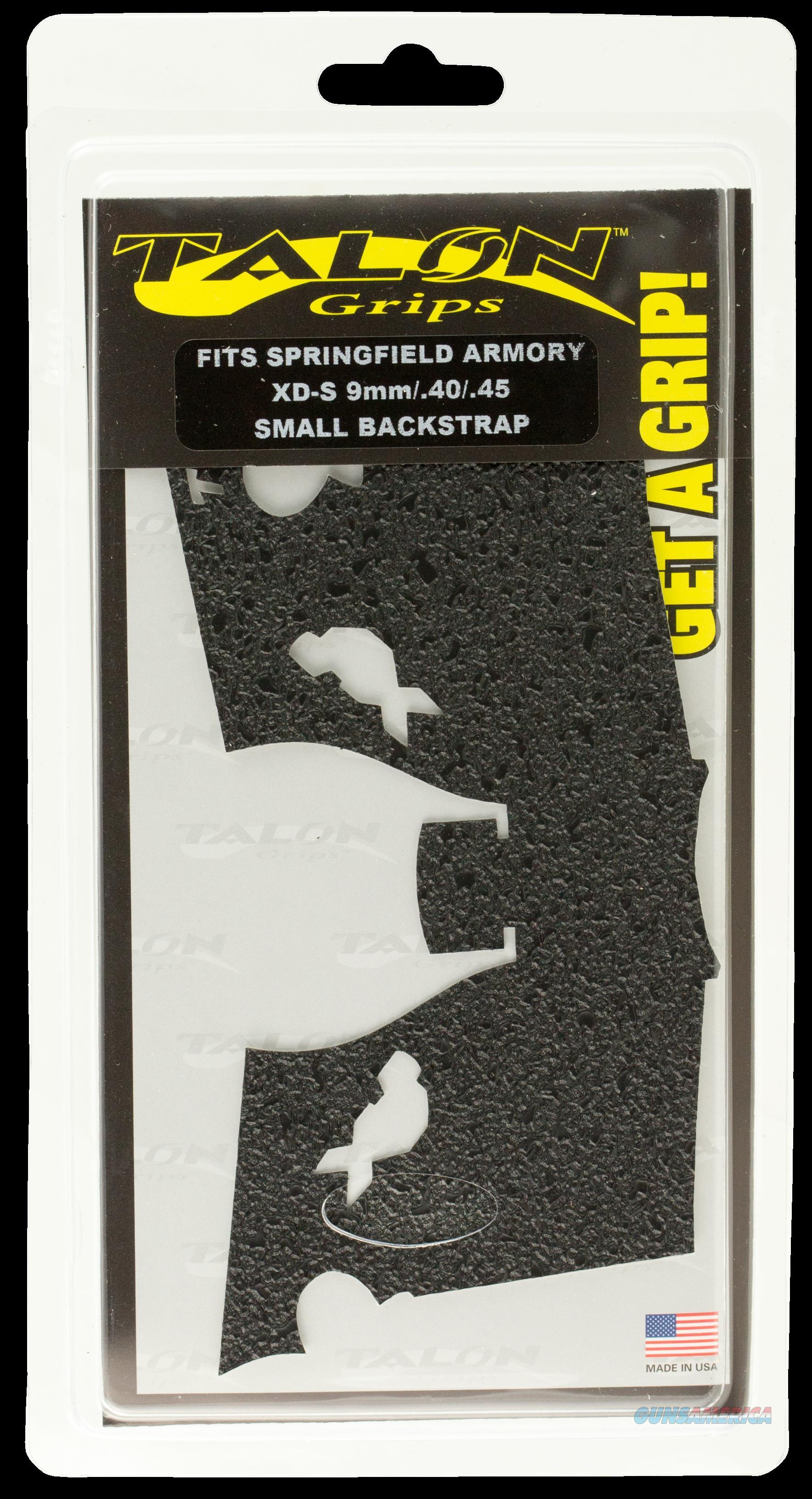 Talon Springfield Xd-s 9-40-45, Talon 207r Spg Xds      9-45 3.3  Rbbr  Guns > Pistols > 1911 Pistol Copies (non-Colt)