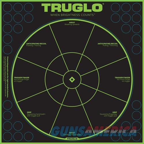 Truglo Tru-see Reactive Target - Handgun Diagnostic 12x12 6pk  Guns > Pistols > 1911 Pistol Copies (non-Colt)