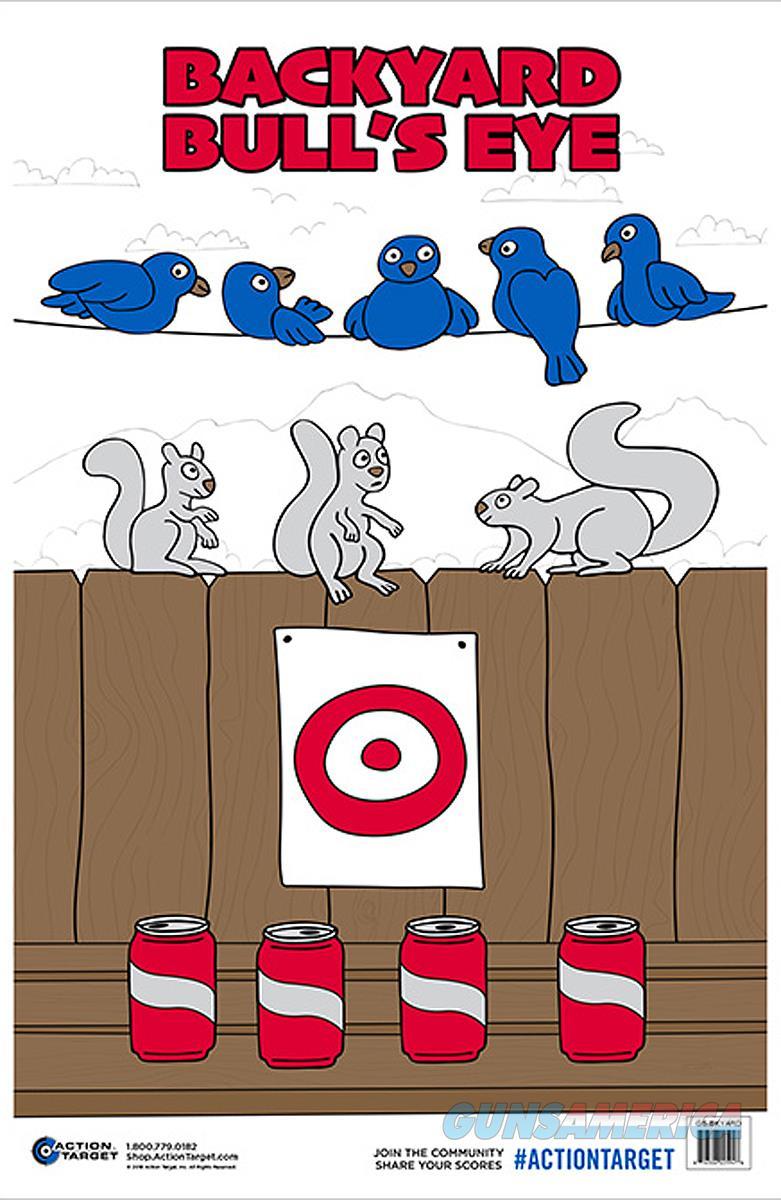 Action Target Inc Action, Action Gsbkyard100      Backyard Bullseye   100 Bx  Guns > Pistols > 1911 Pistol Copies (non-Colt)