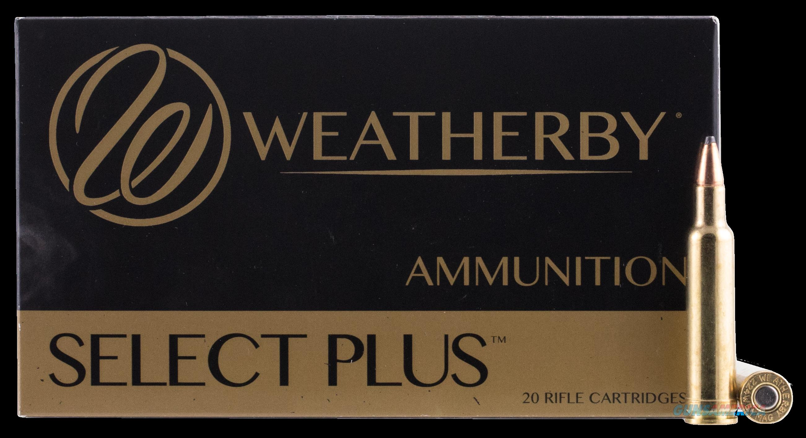 Weatherby Select Plus, Wthby H7mm154sp   7mmwby 154 Sp     20  Guns > Pistols > 1911 Pistol Copies (non-Colt)