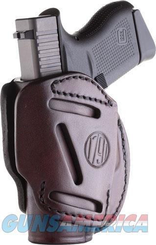 1791 Gunleather 3 Way, 1791 3wh-2-sbr-a   3way Owb Glk42-lcp  Signtre Brn  Guns > Pistols > 1911 Pistol Copies (non-Colt)