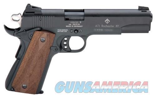 German Sport 1911 .22lr - 5 Black-faux Wood Grips 10rd  Guns > Pistols > 1911 Pistol Copies (non-Colt)
