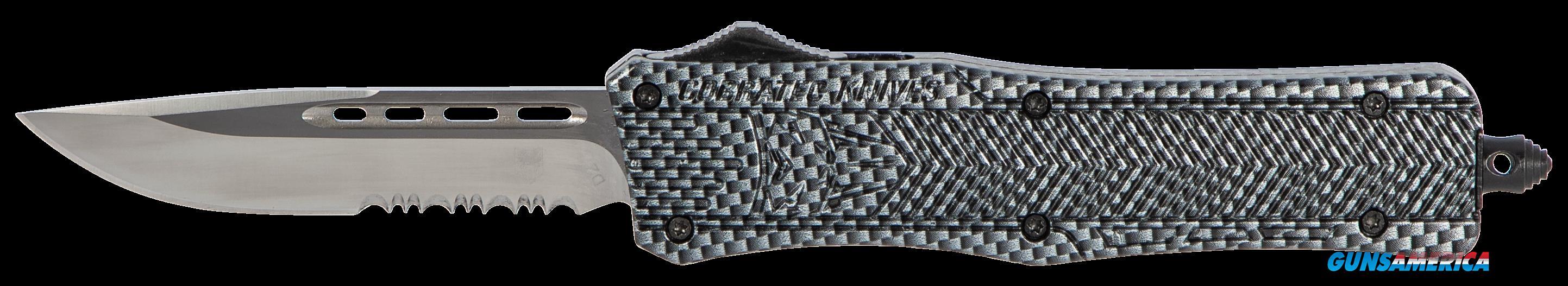 Cobra Tec Knives Llc Ctk-1, Cobra Mcfctk1mds     Med Ctk1 Serr Carbon Fiber  Guns > Pistols > 1911 Pistol Copies (non-Colt)