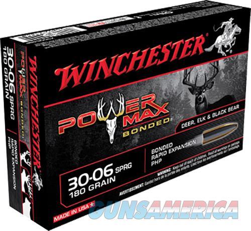 Winchester Ammo Power Max Bonded, Win X30064bp      3006   180pmb  20-10  Guns > Pistols > 1911 Pistol Copies (non-Colt)