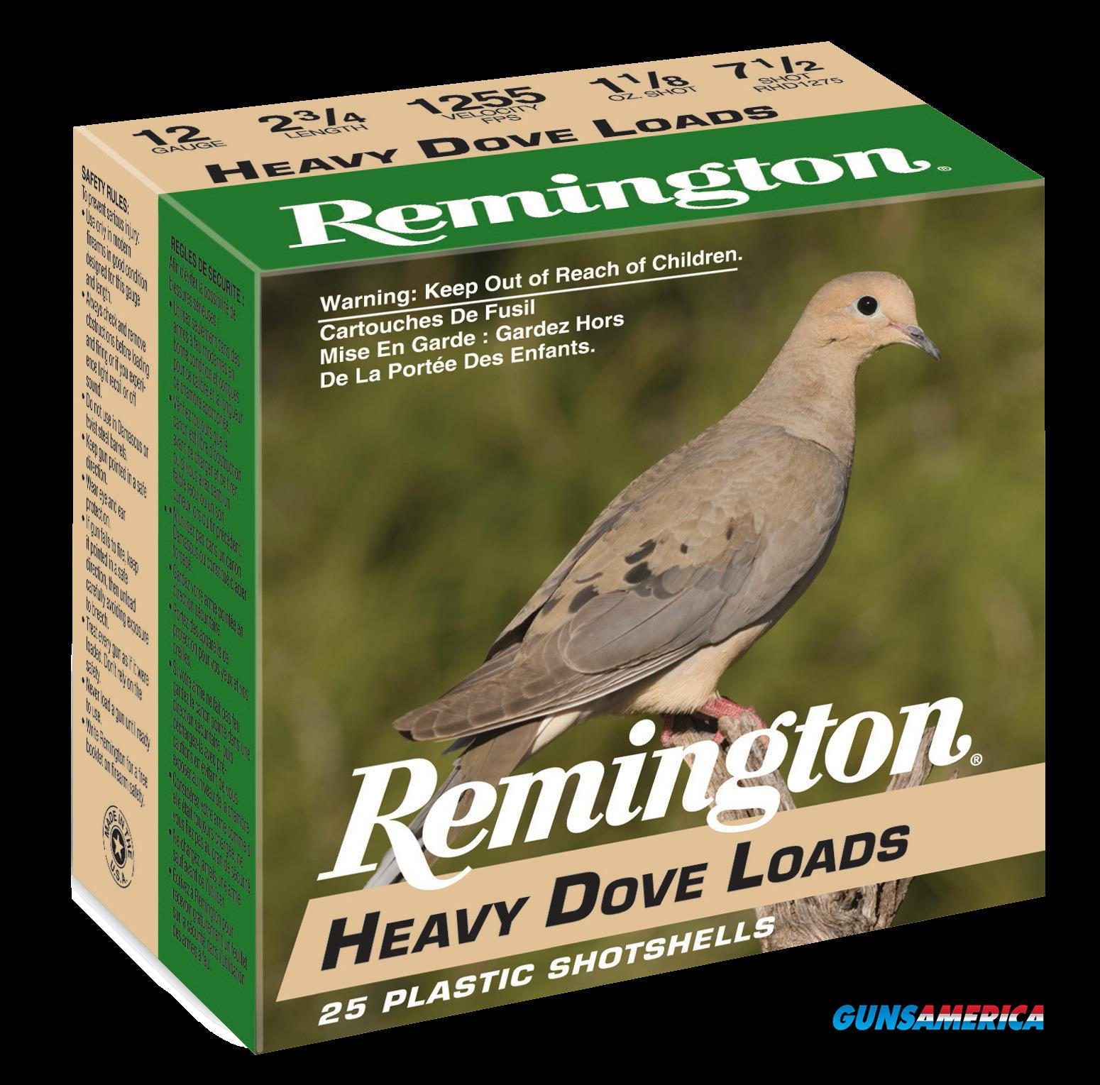 Remington Ammunition Heavy Dove Loads, Rem 28757 Rhd128   12ga  Hvy Dove 11-8 25-10  Guns > Pistols > 1911 Pistol Copies (non-Colt)
