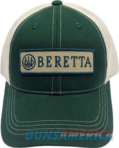 Beretta Cap Trucker W-patch - Cotton Mesh Back Green<  Guns > Pistols > 1911 Pistol Copies (non-Colt)