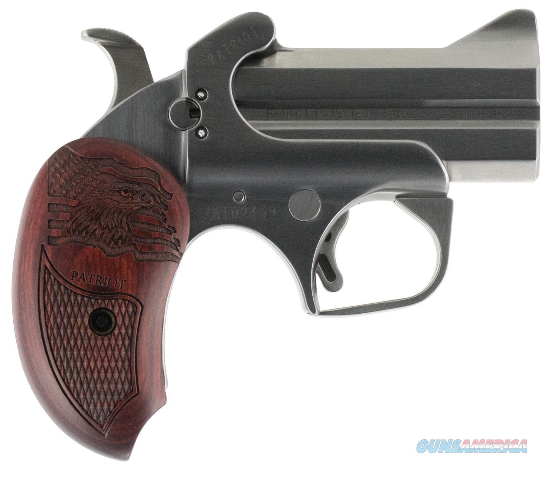 Bond Arms Patriot, Bond Bapa       Patriot  45c-410 3in Ext Grp-hlstr  Guns > Pistols > 1911 Pistol Copies (non-Colt)