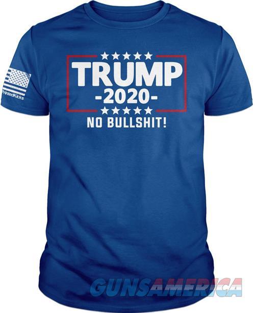 Printed Kicks Trump 2020 No Bs - Men's T-shirt Royal Blue Small  Guns > Pistols > 1911 Pistol Copies (non-Colt)