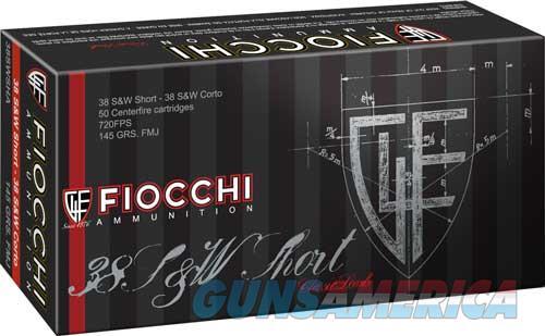 Fiocchi Specialty, Fio 38swsha   38sw Shrt  145 Fmj   50-20  Guns > Pistols > 1911 Pistol Copies (non-Colt)