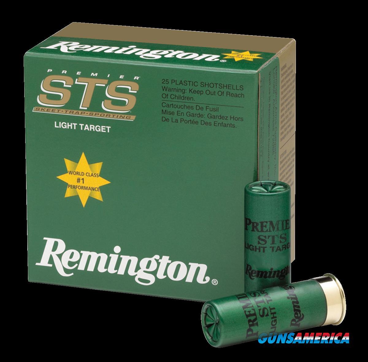 Remington Ammunition Premier, Rem 20217 Sts209     20      9     7-8 25-10  Guns > Pistols > 1911 Pistol Copies (non-Colt)