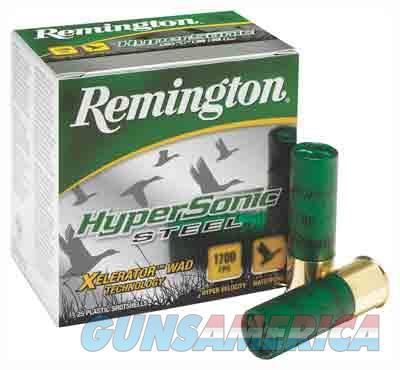 Remington Hypersonic Steel 12 Gauge 3' 1-1-8oz #bb 25-bx  Guns > Pistols > 1911 Pistol Copies (non-Colt)
