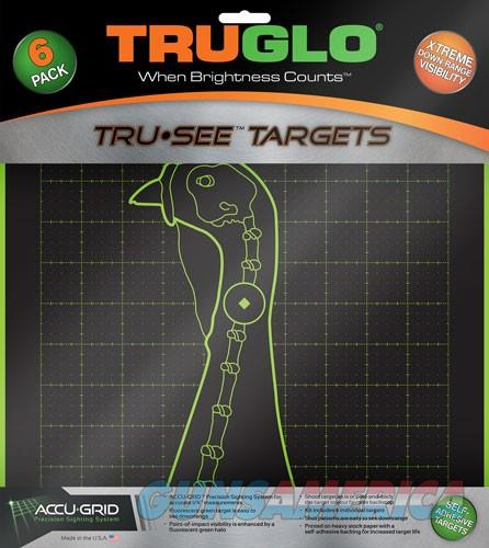Truglo Tru-see Reactive Target - Turkey 6-pack  Guns > Pistols > 1911 Pistol Copies (non-Colt)