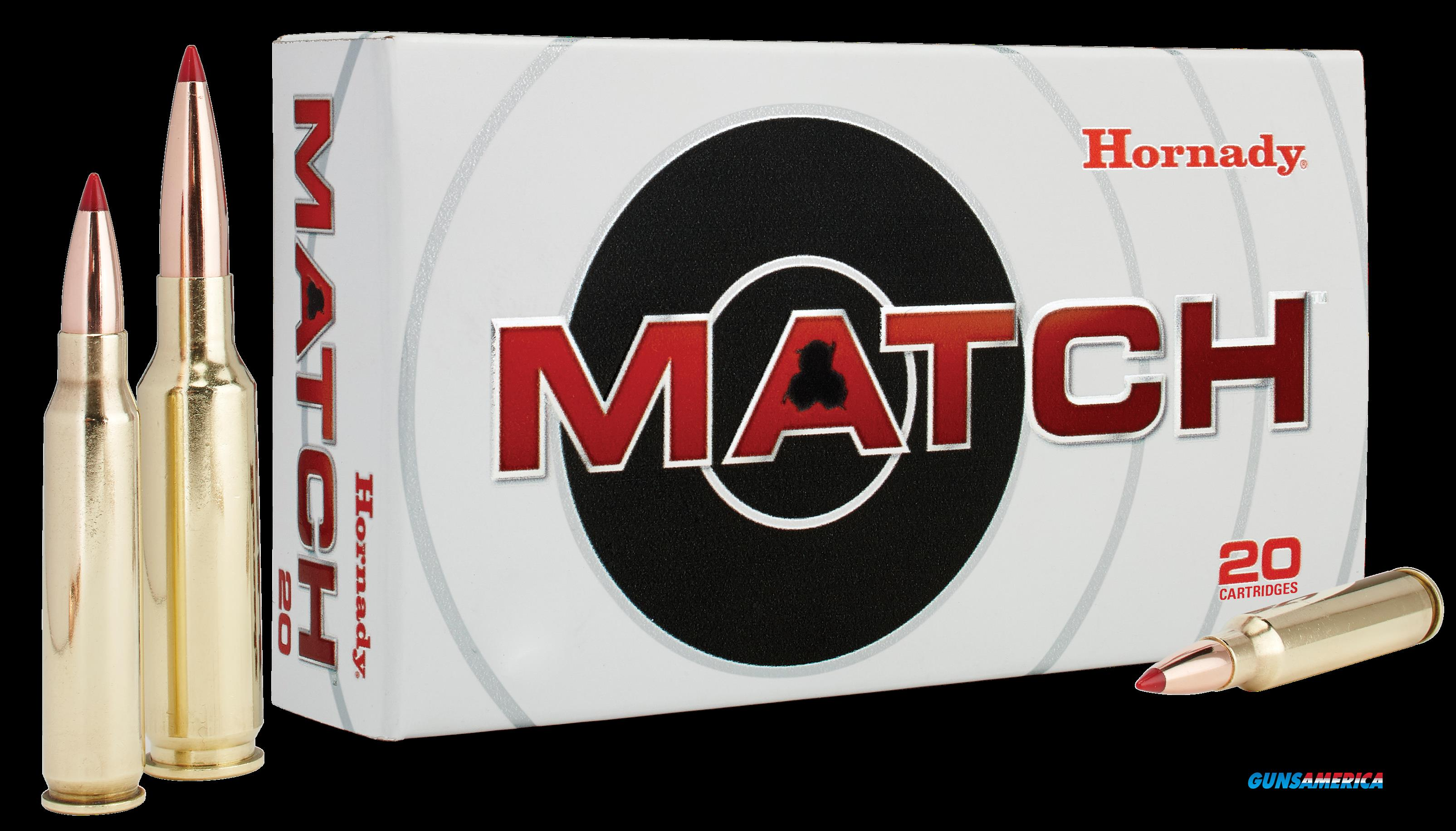 Hornady Match, Horn 80966  308 Win 168 Eld Match20-10  Guns > Pistols > 1911 Pistol Copies (non-Colt)