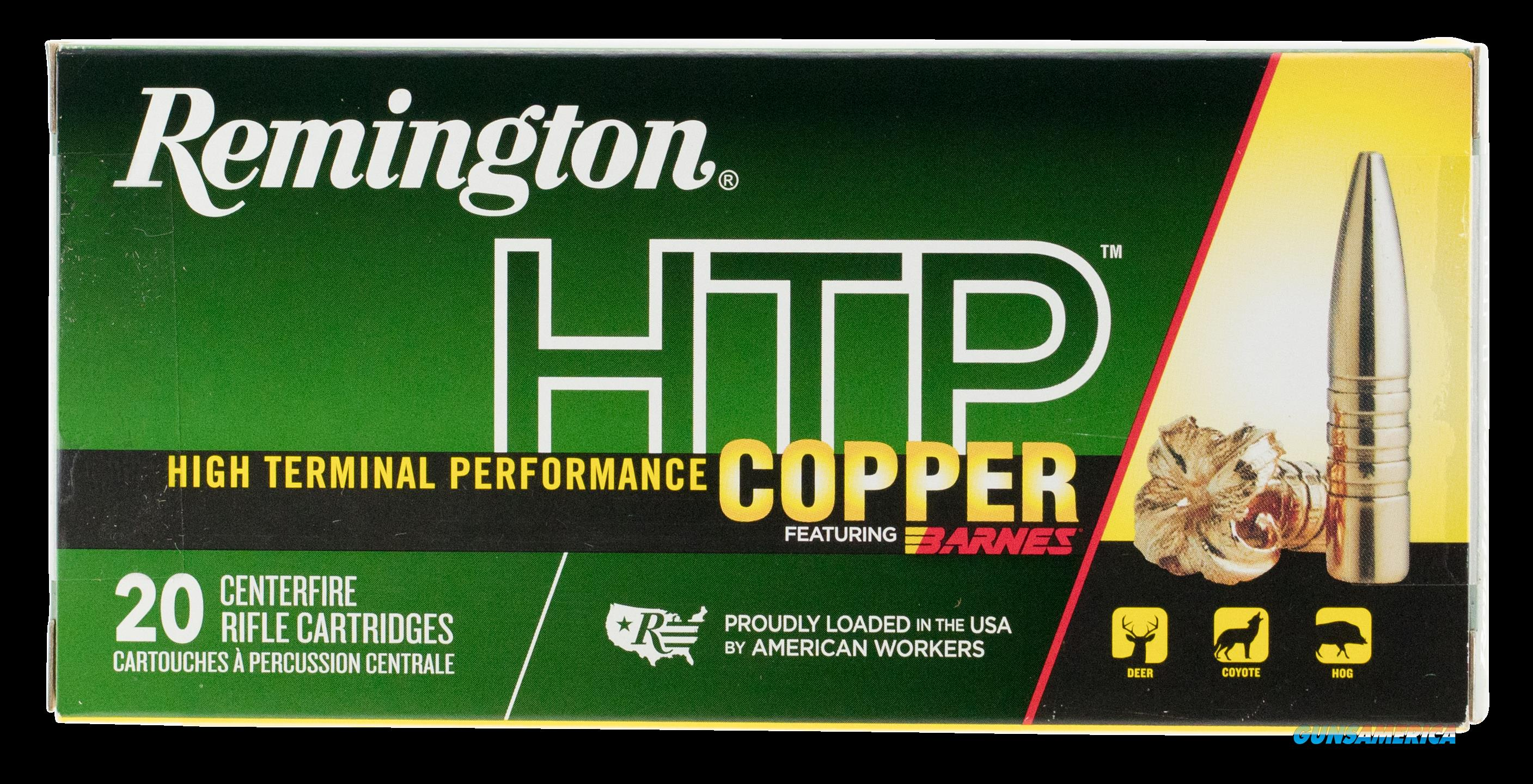 Remington Ammunition Htp Copper, Rem 27719 Htp7um    Htp Copper 150 Tsx Bt 20-10  Guns > Pistols > 1911 Pistol Copies (non-Colt)