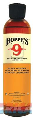 Hoppes #9+ Blackpowder Solvent - And Patch Lube 8oz. Sq.bottle  Guns > Pistols > 1911 Pistol Copies (non-Colt)