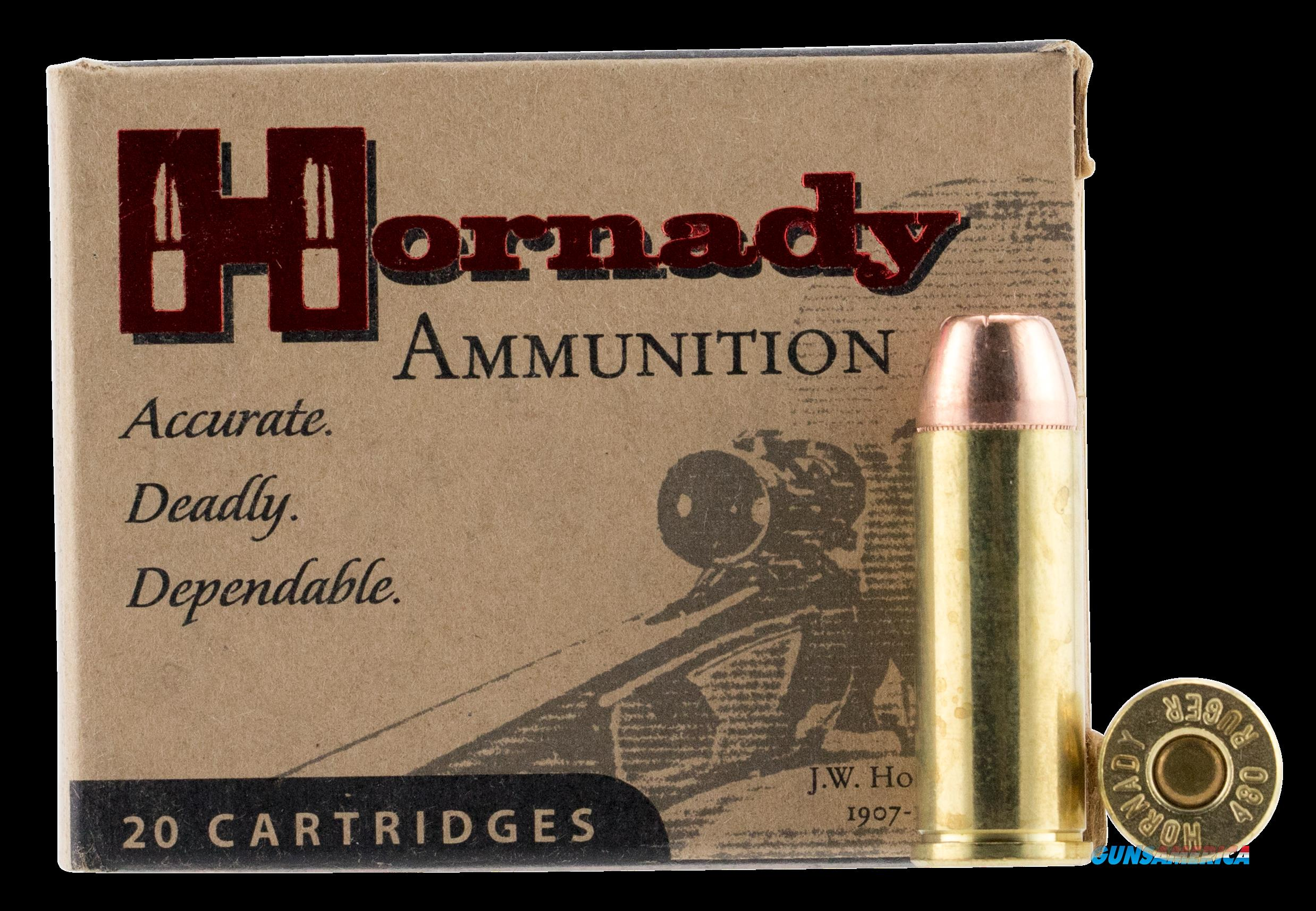 Hornady Custom, Horn 9138  480 Rug 325 Xtp Mag   20-10  Guns > Pistols > 1911 Pistol Copies (non-Colt)