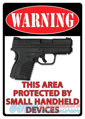 Rivers Edge Sign 12x17 - Warning-this Area Is Protected  Guns > Pistols > 1911 Pistol Copies (non-Colt)