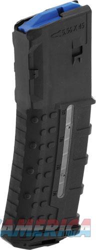 Utg Magazine 5.56x45 30rnd - Window Poly Matte Black  Guns > Pistols > 1911 Pistol Copies (non-Colt)