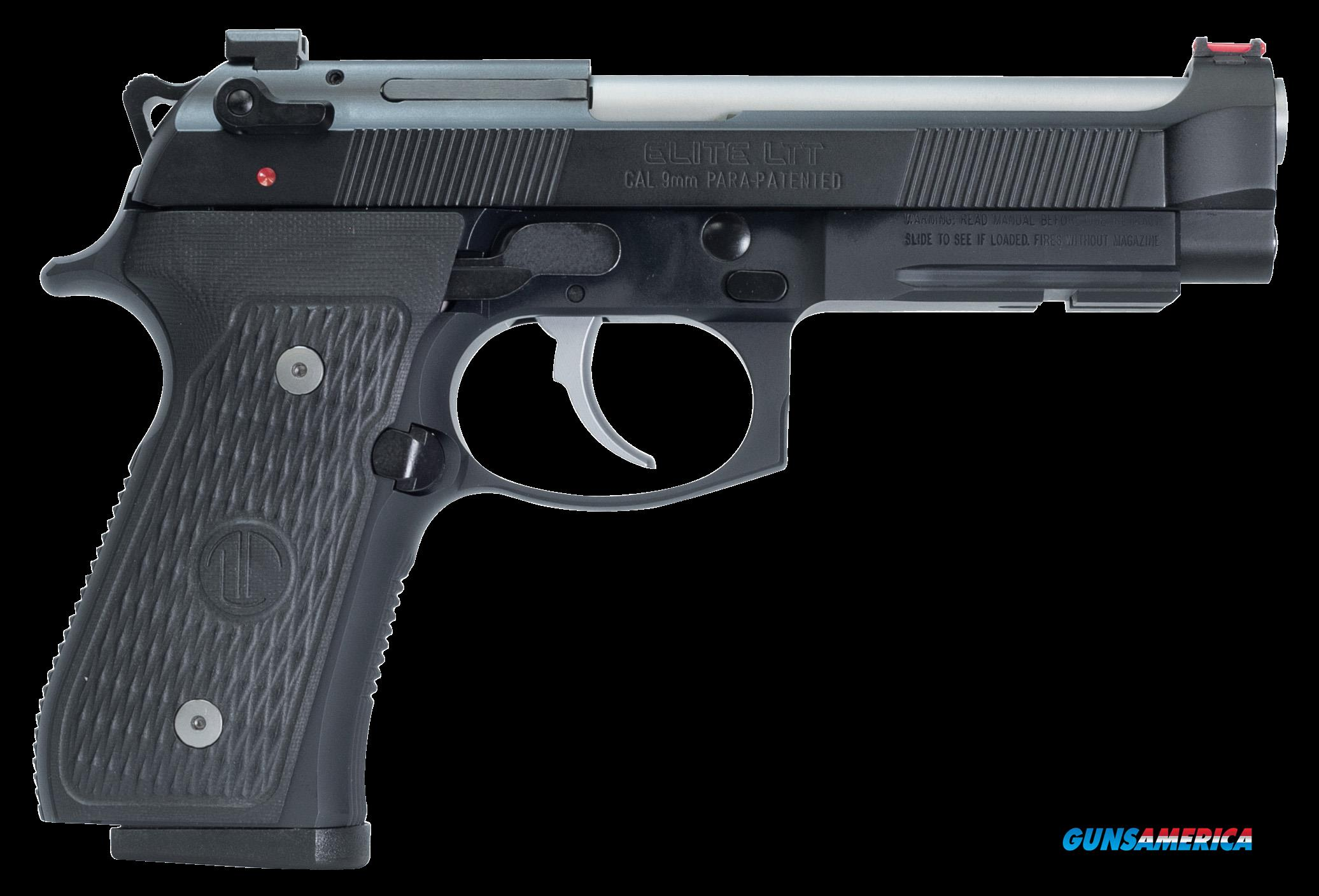 Beretta Usa 92g, Ber J92g9lttm  Elite Ltt  9mm         15rd  Guns > Pistols > 1911 Pistol Copies (non-Colt)