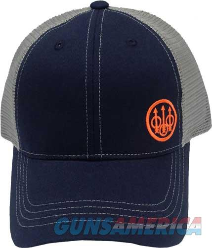 Beretta Cap Trucker W-offset - Logo Cotton Mesh Back Navy  Guns > Pistols > 1911 Pistol Copies (non-Colt)