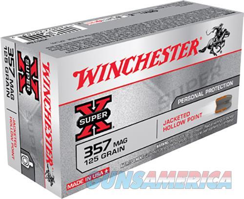 Winchester Ammo Super-x, Win X3576p    357 Mag  125 Jhp      50-10  Guns > Pistols > 1911 Pistol Copies (non-Colt)