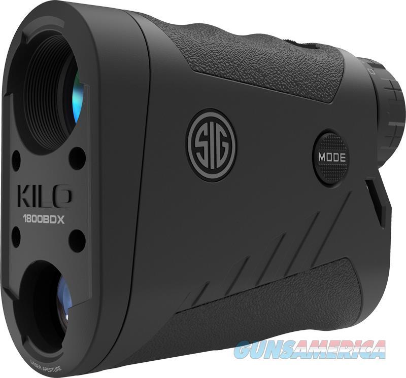 Sig Sauer Electro-optics Kilo Bdx, Sig Sok18601   Kilo1800bdx Laser Ranfind  6x22 Blk  Guns > Pistols > 1911 Pistol Copies (non-Colt)