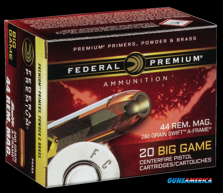 Federal Premium, Fed P44sa      44mg      280 Swafr         20-10  Guns > Pistols > 1911 Pistol Copies (non-Colt)