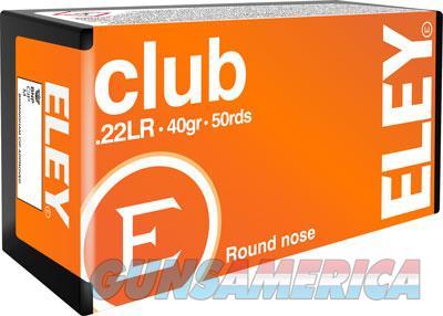 Eley Club 22lr 40gr. - Round Nose 50 Pack  Guns > Pistols > 1911 Pistol Copies (non-Colt)