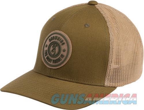 Bg Cap Dusted Logo Loden W- - Circle Patch Large-xl Flex Fit  Guns > Pistols > 1911 Pistol Copies (non-Colt)