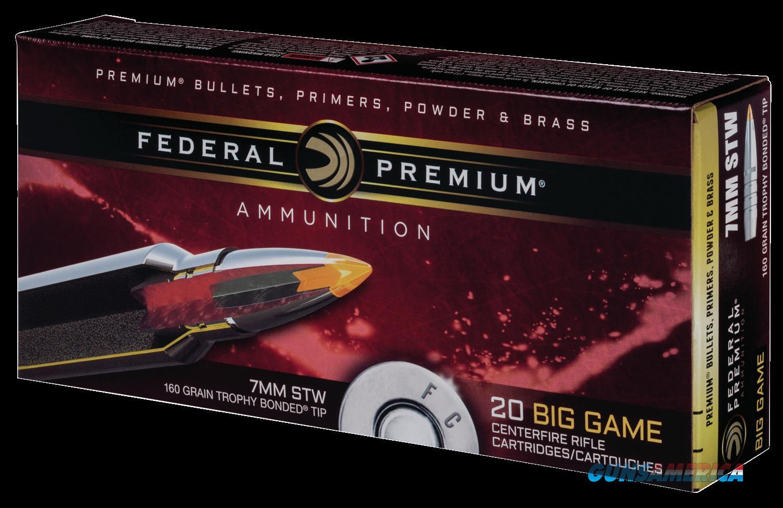 Federal Premium, Fed P7stwtt1   7mmstw  160 Tbvs             20-10  Guns > Pistols > 1911 Pistol Copies (non-Colt)