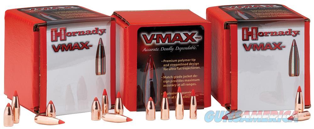 Hornady V-max, Horn 21710 Bull .172  20 Vmax      100  Guns > Pistols > 1911 Pistol Copies (non-Colt)