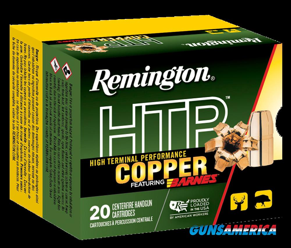 Remington Ammunition Htp Copper, Rem 27736 Htp4570g1 Htp Copper 300 Tsx Bt 20-10  Guns > Pistols > 1911 Pistol Copies (non-Colt)
