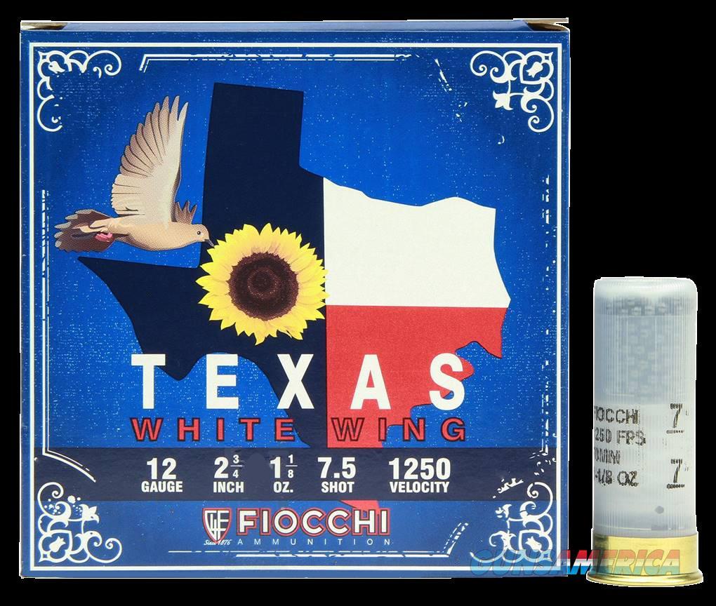 Fiocchi Texas White Wing, Fio 12tww187 12 7.5 11-8oz Tx Whitewing 25-10  Guns > Pistols > 1911 Pistol Copies (non-Colt)