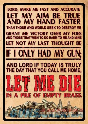Rivers Edge Sign 12x17 - lord's Prayer  Guns > Pistols > 1911 Pistol Copies (non-Colt)