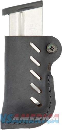 Versacarry Leather Mag Holder - Double Stack W- Flex Vent Blk<  Guns > Pistols > 1911 Pistol Copies (non-Colt)