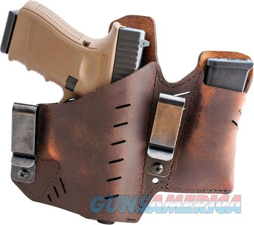 Versacarry Element Holster Iwb - Rh 1911 Style W- Mag Pouch Br<  Guns > Pistols > 1911 Pistol Copies (non-Colt)