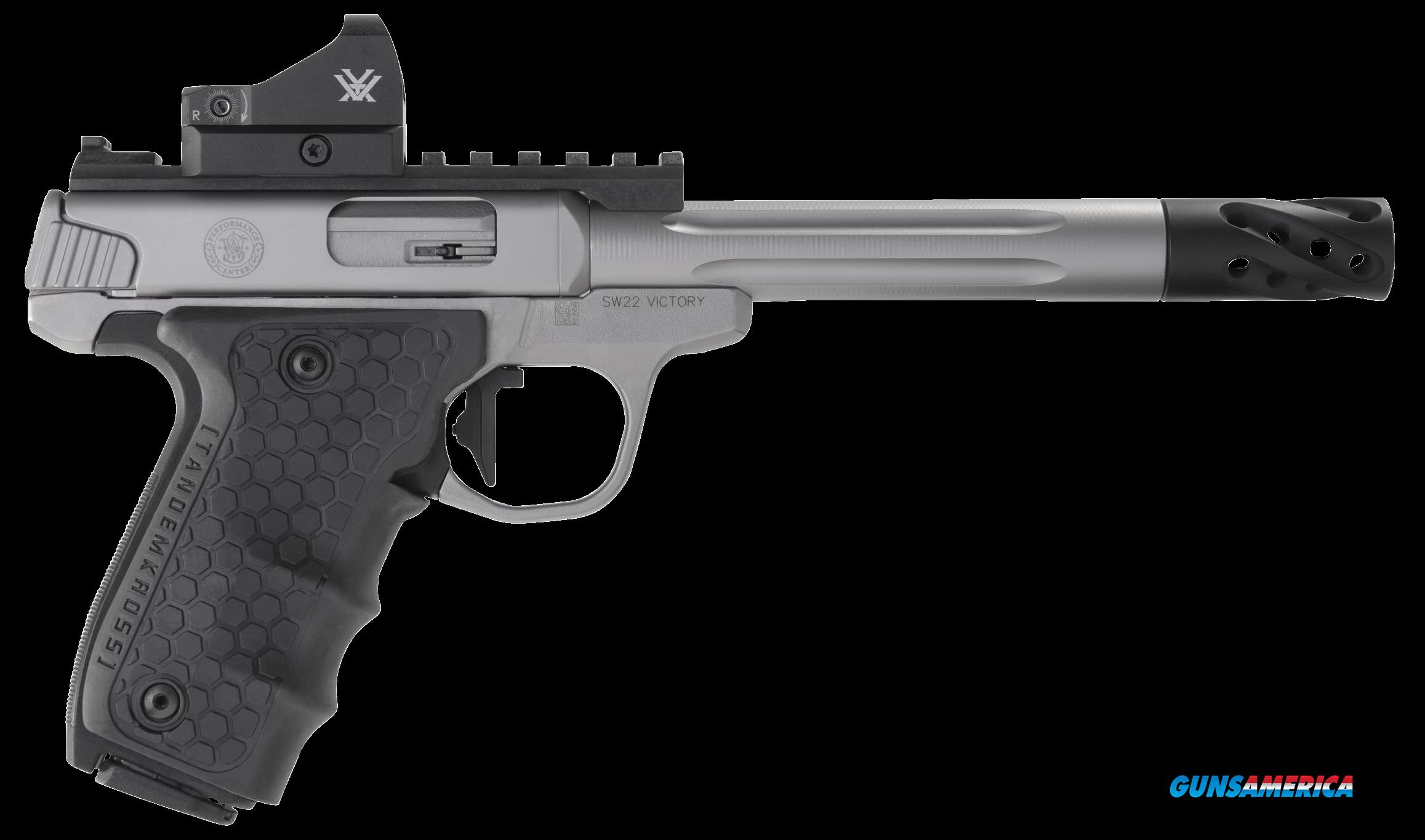 Smith & Wesson Performance Center, S&w Victory   12079 Pfmc 22lr 6in Trt Mb Rd   Ss  Guns > Pistols > 1911 Pistol Copies (non-Colt)