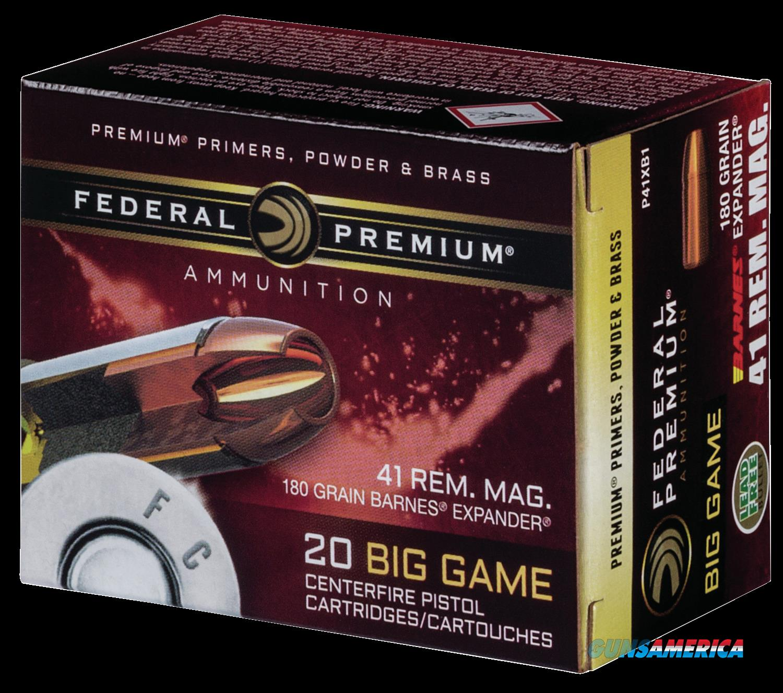 Federal Premium, Fed P41xb1     41mg      180 Brx           20-10  Guns > Pistols > 1911 Pistol Copies (non-Colt)