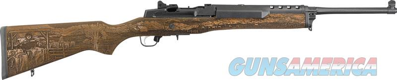 Ruger Mini-14 Ranch  5.56mm - Limited Ed. Engraved Stock  Guns > Pistols > 1911 Pistol Copies (non-Colt)