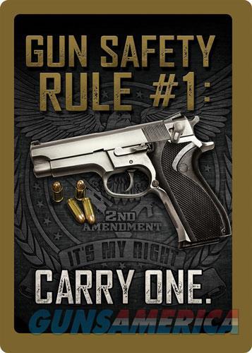 Rivers Edge Sign 12x17 - gun Safety  Guns > Pistols > 1911 Pistol Copies (non-Colt)