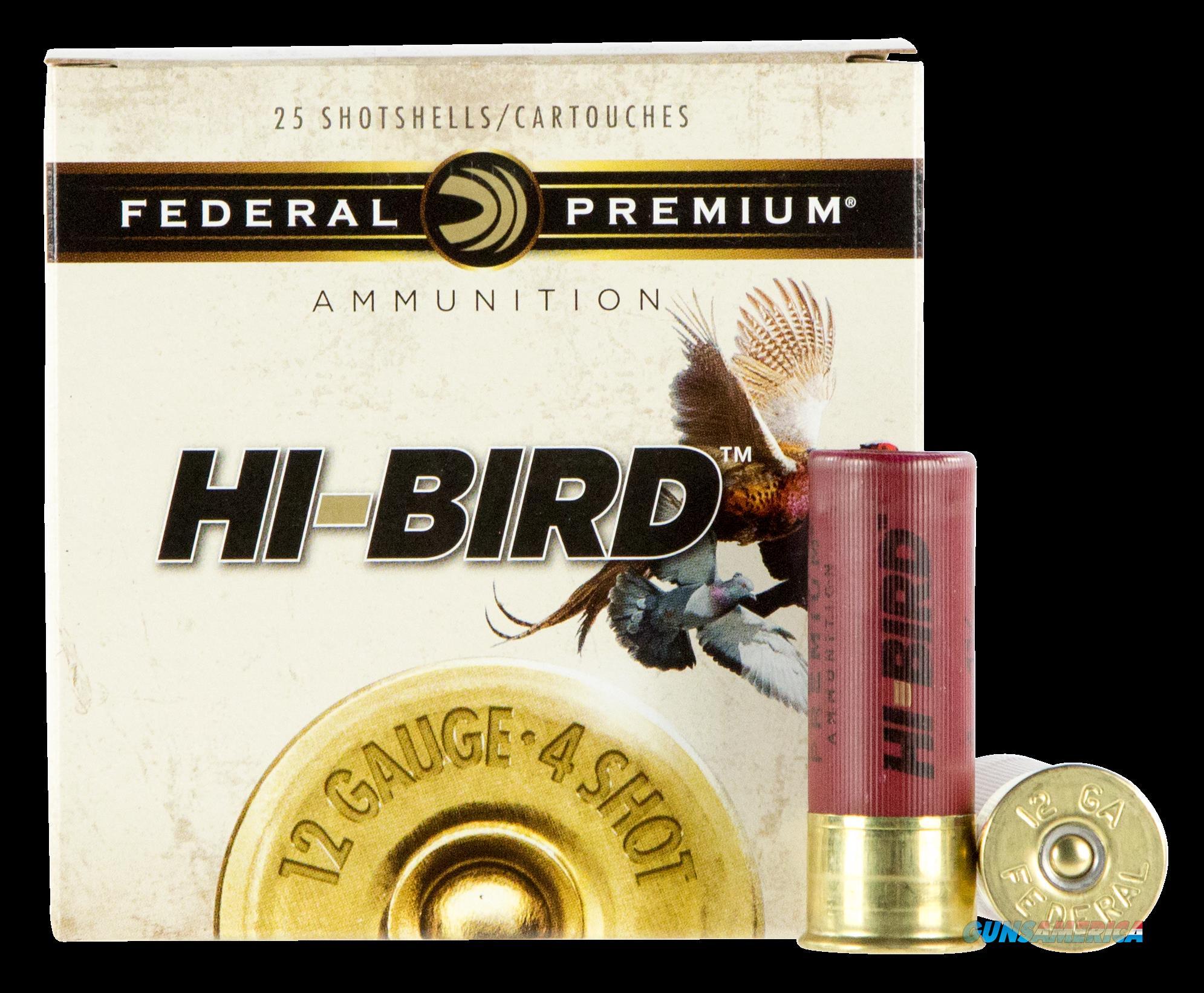 Federal Premium Upland, Fed Hvf12h4   Dove    12    11-4         25-10  Guns > Pistols > 1911 Pistol Copies (non-Colt)