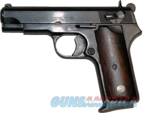 Ci Zastava M88a 9mm Luger - 1-8rd Mag Blued Vg Condition  Guns > Pistols > 1911 Pistol Copies (non-Colt)
