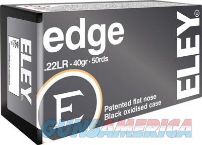 Eley Edge 22lr 40gr. Eps Style - Black Bullet 50 Pack  Guns > Pistols > 1911 Pistol Copies (non-Colt)