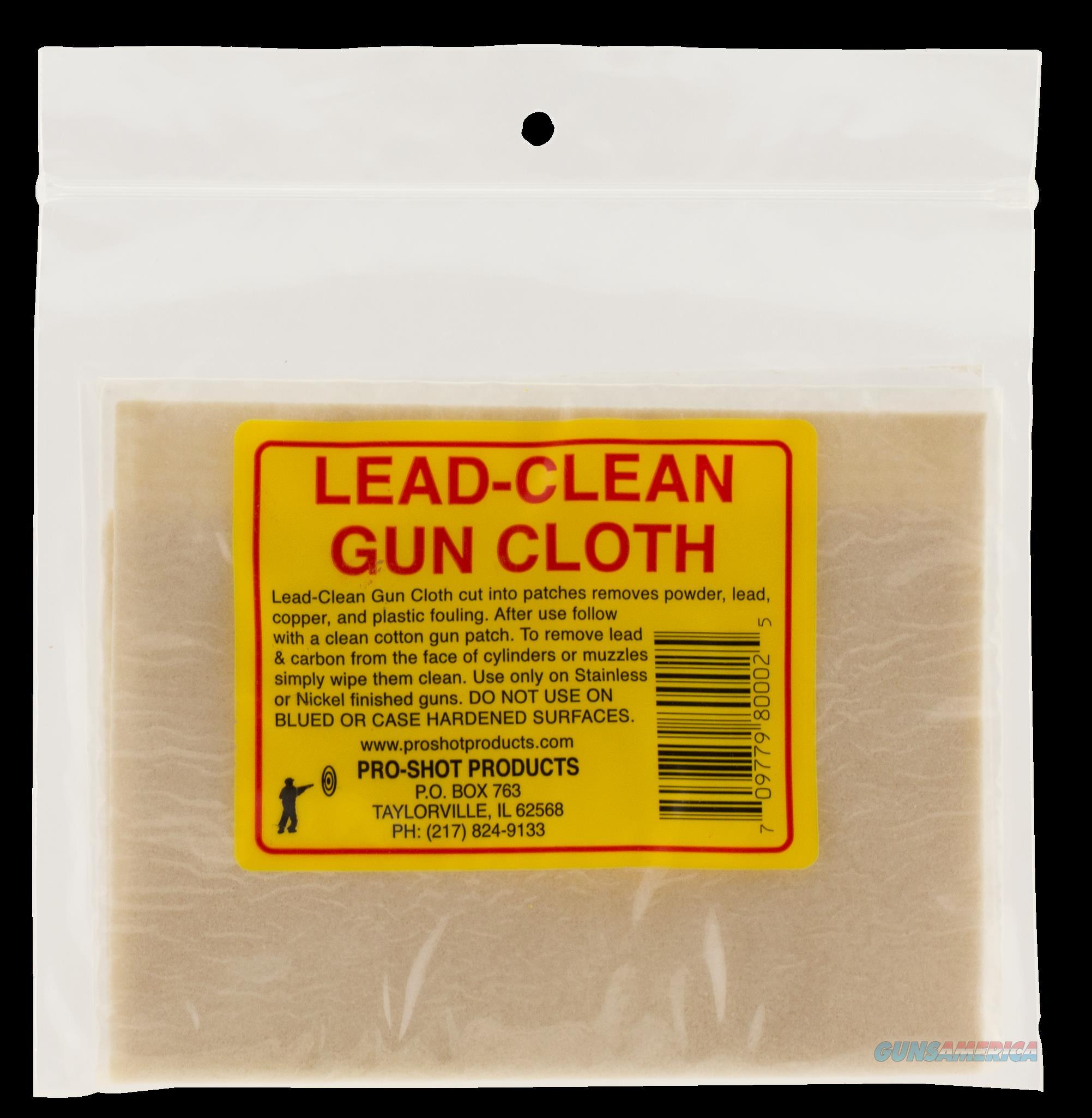 Pro-shot Lead Clean, Proshot Lcc            Lead Clean Gun Cloth  Guns > Pistols > 1911 Pistol Copies (non-Colt)